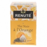 fournisseur RENUTE THE NOIR ORANGE 20 PYRAMIDES<br>