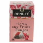 fournisseur RENUTE THE NOIR FRUIT ROUGE 20 PYRAMIDES<br>