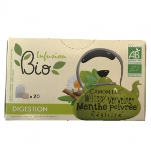 Infusion BIO digestion  20 sachets CT 12 BTES