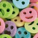 Bonbons smiley fizz Lutti<br>