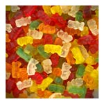 Bonbons Mini Oursons Lisses<br> 8 x 1kg Trolli