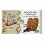 Biscuit petit dej BIO<br> fruits rouges paquet 200g