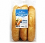 6 maxi pains Hot Dog<br>paquet 600g