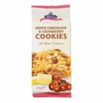 Cookies chocolat blanc & cranberries paquet 200g<br>