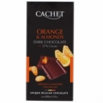 fournisseur Chocolat noir orange & amandes<br> tablette 100g
