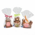 Moulages cloches en chocolat au lait sachet 160g  CARTON DE 15