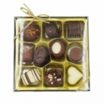 fournisseur BOITE LUXE PRALINES CARRES 265 GR<br>
