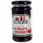fournisseur Confiture 4 fruits rouges 265G<br>