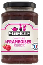 Confiture framboises Willamette  pot 315 g CT 6 POTS