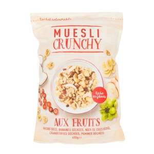 Muesli croustillant fruits  CT DE 7 BOITES