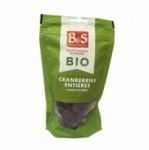 Cranberries entières BIO<br>paquet 100g B&S