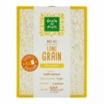 Riz long incollable 4 sachets cuisson paquet 500g<br>
