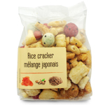 Rice cracker mélange japonais<br>paquet 120g