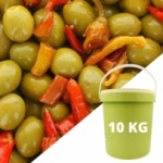 Olives sauce Tunisienne cal 16/18 <br>