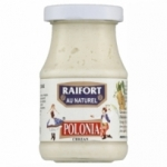 Raifort au naturel <br> bocal 200g