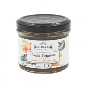 Confit d'oignons France bocal 110g  CT 12 POTS