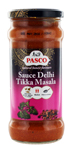 fournisseur Sauce indienne Delhi Tikka Masala<br> pot 350g Pasco