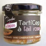 fournisseur Tarti'cep ail rose 90 g DLUO 30/09/2019<br>