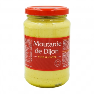 Moutarde forte de Dijon pot 370g CT 12 POT