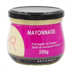 Mayonnaise   bocal 250g Marcel Recorbet CT 12 POTS