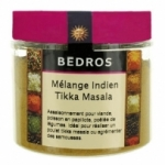 fournisseur MELANGE INDIEN TIKKA MASSALA POT PET 75 gr Bédros<br>
