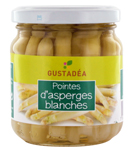 fournisseur Pointes asperges blanches<br>Gustadea 110gr
