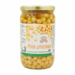 Pois chiches au naturel bocal 720ml France<br>