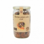 Marrons entiers cuits au naturel<br>bocal 420g