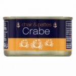 Crabe chair & pattes<br> conserve pne 121g