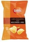 Chips Miel Moutarde<br>paquet 120g Sibell