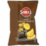 Chips campagnardes<br> paquet 135g Sibell