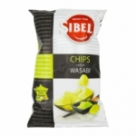 fournisseur Chips wasabi <br>paquet 100g Sibell