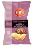fournisseur Chips poulet roti<br> paquet 120g Sibell