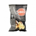 Chips goût Cèpes Sibell 100g<br>