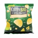 Chips de pois chiches BIO paquet 60g  CT 12 PQT