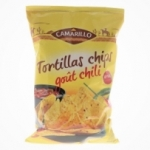 Tortillas chips chili  paquet 200g Camarillo Carton de 22x 200gr