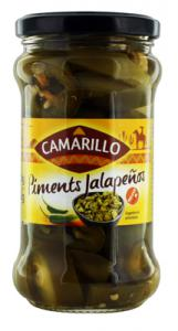 Piments jalapenos pot 280g Camarillo Carton de 12