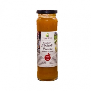Coulis d'abricots & pomme   bocal 156ml CT 10 FLAC