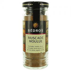 Muscade moulue   flacon 45g  Bedros  CT 6 FLAC