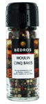 Moulin 5 baies <br> flacon 40g Bedros