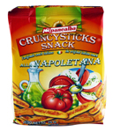 Grissini snack tomate  paquet 75g Panealba CT 14