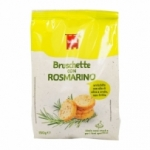 Mini bruschetta romarin paquet 150g<br>