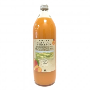 Nectar d'abricot Bergeron  bouteille 1L  CT 6 BOUT