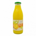 Pur jus d'Orange BIO bouteille 75cl<br>