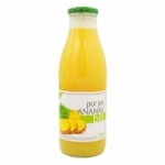 Pur jus d'Ananas BIO bouteille 75cl<br>