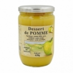 Dessert de pomme Origine France <br> bocal  620g