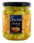 fournisseur ail aperitif au curry   pot 228ml Savino