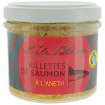 Rillettes de saumon à l'aneth<br>pot 100g